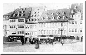 Marktplatz zu Naumburg
