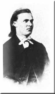 Nietzsche mit 20 Jahren