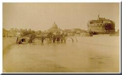 Rom - Blick über die Engelsbrücke