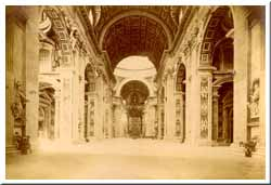 Rom - Petersdom innen