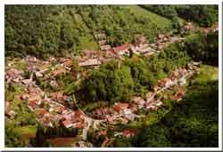 Luftbild von Tautenburg