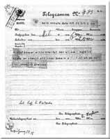 Telegramm Franz Overbecks
